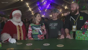 Hard seltzer & cranberry sauce-inspired brews at the Holiday Ale Festival