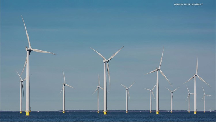Wind turbines could soon start popping up off the Oregon Coast