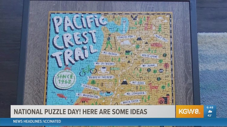 Puzzle ideas! Buy local, try a bizarre, mystery puzzle or put together the Golden Girls on National Puzzle Day