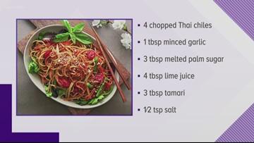 Cook up some vegan Thai food