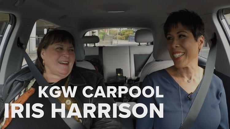 KGW Carpool: Rocking out with KGON radio host Iris Harrison