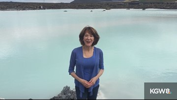 Laural Porter: Stopping in Iceland at the Blue Lagoon