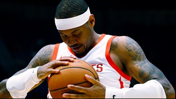 Carmelo Anthony officially signs with Blazers, expected to play tonight
