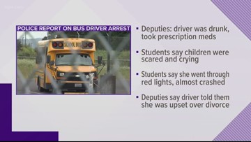 Longview bus driver arrested for being under the influence had .09 BAC