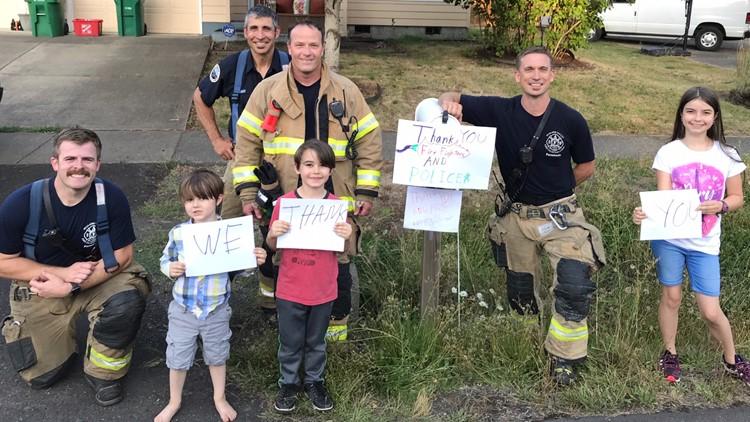 Firefighters Tualatin - beaverton fire