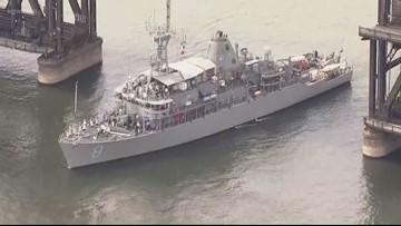 Ships arrive in Portland for Fleet Week