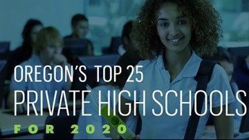 Here are Oregon's 25 top-rated private high schools