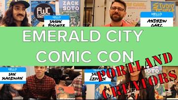 Portland comic creators talk projects and pride at Emerald City Comic Con