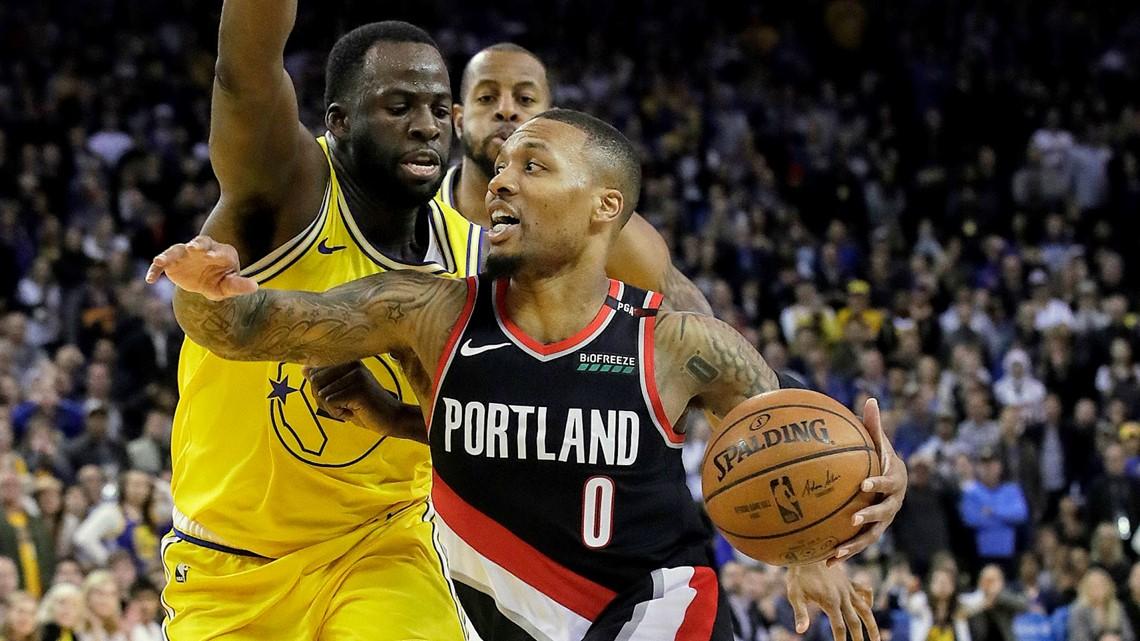 Blazers star Damian Lillard named to All-NBA second team