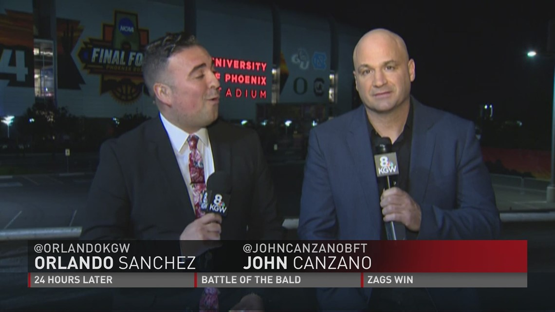Orlando Sanchez - KGW Sports highlights