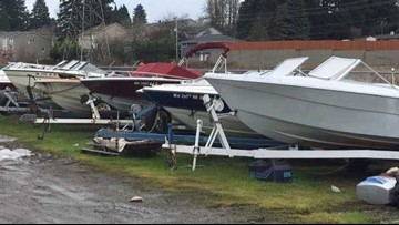 Broken-down boats abandoned on streets become transient