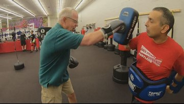 Tigard gym uses boxing to  help people cope with Parkinson's Disease
