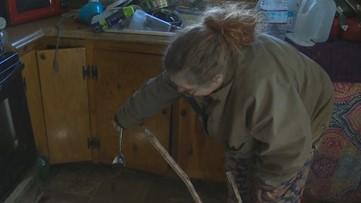 'I had to throw everything away': Pendleton residents assess damage after devastating flood