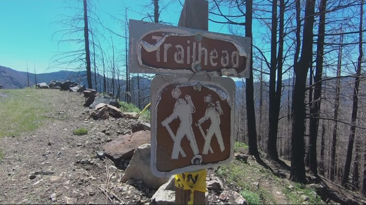 A look at Santiam Canyon trails still in need of repair