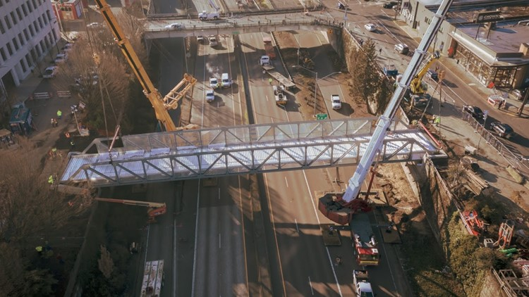New pedestrian and bicycle bridge over I-405 in NW Portland opens June 4