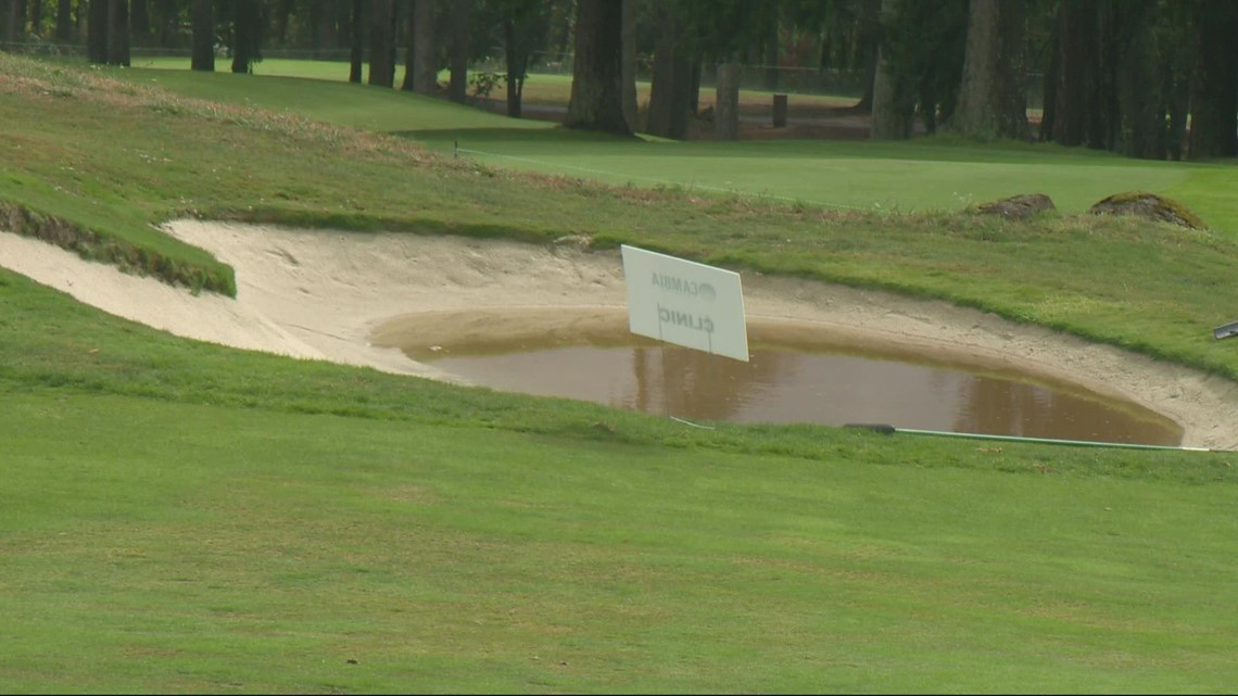 Weather forces Cambia Portland Classic to suspend play