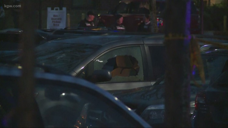 Two adults shot in Vancouver school parking lot