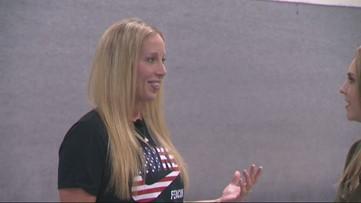 Olympian fencer Mariel Zagunis talks in June, 2017 of preps for motherhood
