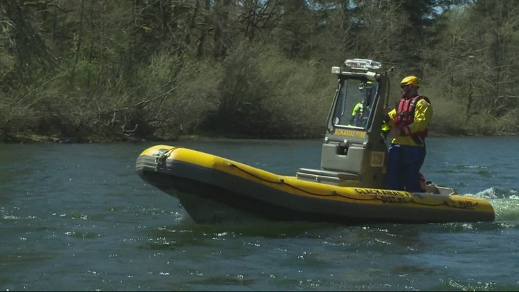A hot weekend ahead, but river temperatures are still dangerously cold