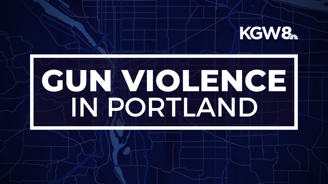 Gun violence on the rise across the city of Portland