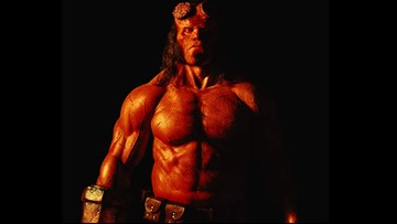'Hellboy' trailer dropped overnight with an f-bomb and demon love story