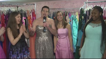Out and About: Free Abby's Closet prom dresses