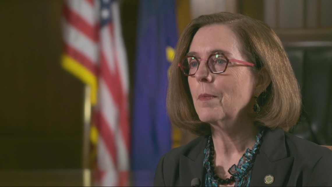 Exclusive interview with Gov. Kate Brown on face masks, vaccine mandates