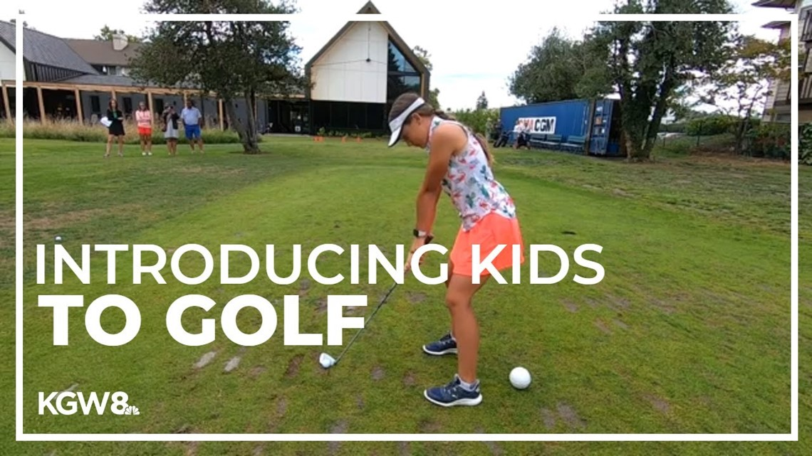 Program gets kids in Oregon excited about golf