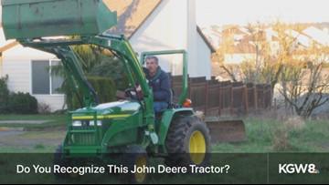 Have you seen it? Stolen tractor in Happy Valley