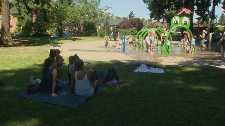 Rivers, pools and splash pads offering some wet relief during heatwave
