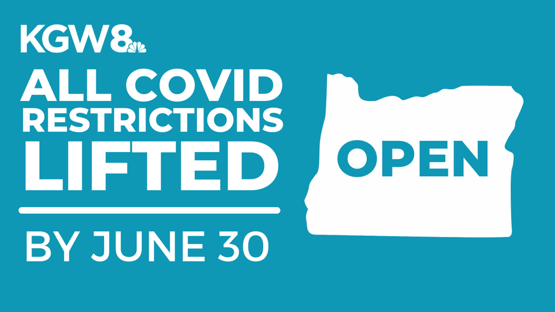 Oregon to reopen by June 30, governor announces | kgw.com