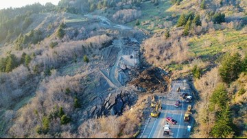 Highway 101 reopens at Brookings as crews continue to clear