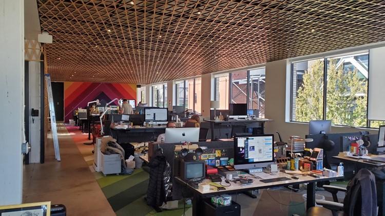 Panic's office in Portland