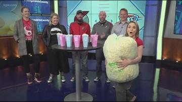 Blazers popcorn taste test: Moda Center vs KGW