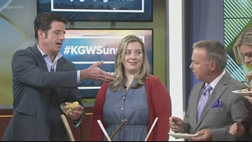 The Sunrise anchors sample Jenna' Mexican veggie salad