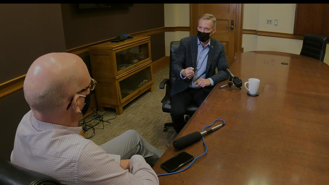 One-on-one with Mayor Ted Wheeler: Record gun violence in Portland