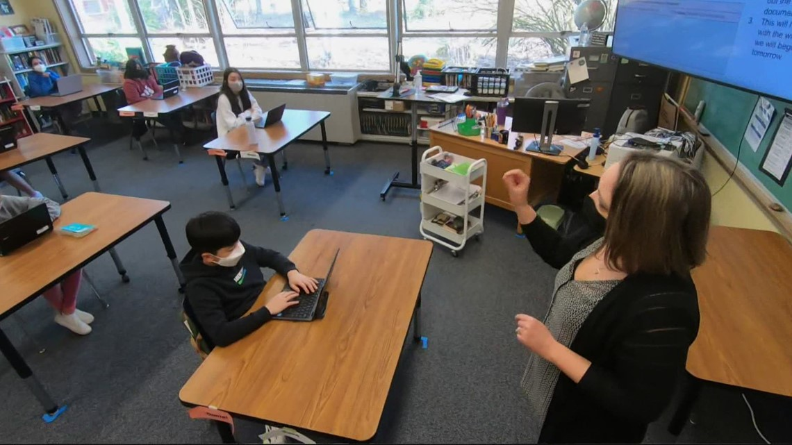 Masks in Oregon schools will be decided by each district