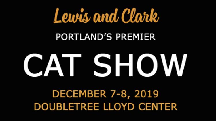Lewis and Clark Cat Show
