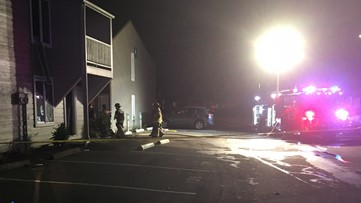Firefighters rescue unconscious person from burning Salem apartment