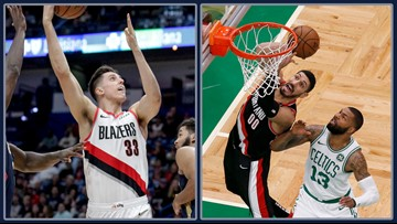 Zach Collins and Enes Kanter a complementary combo for Blazers