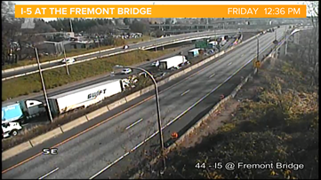 I-5 SB ramp to Fremont Bridge closed for the weekend