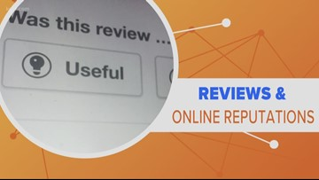 Connect the Dots: Businesses suing over bad reviews