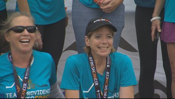 Told she'd never run again: Cancer survivor proves doctors wrong