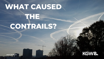 Why did the contrails hang over Portland so long? Matt Zaffino explains