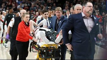 Nurkic breaks leg in Blazers' double-OT win over Nets, will miss rest of season