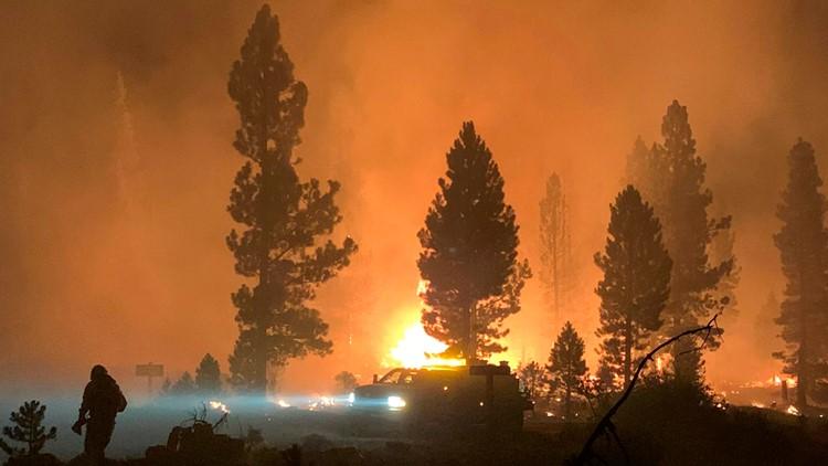 Latest updates on wildfires burning in Oregon, Southern Washington