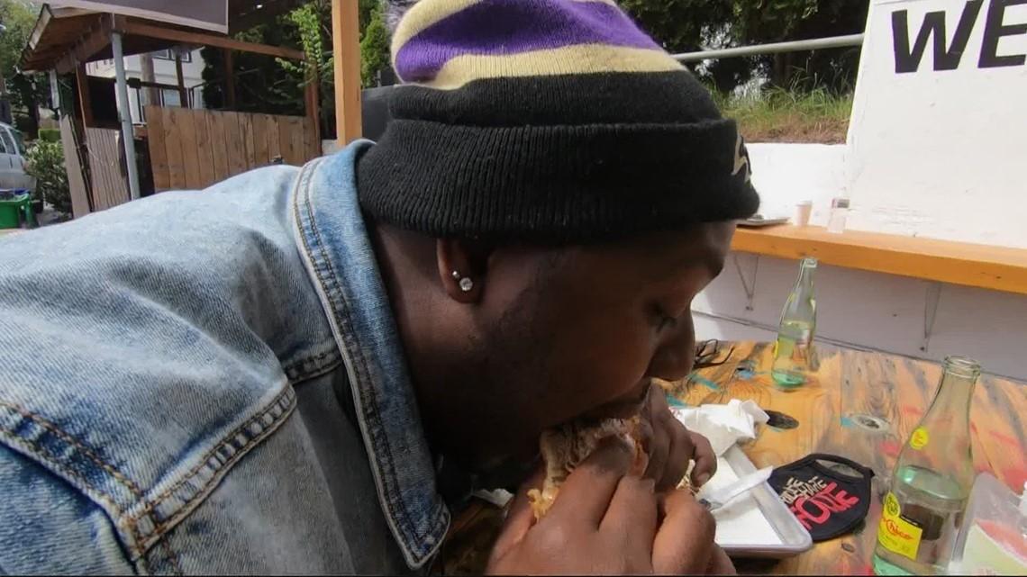 The Rideshare Foodie eats across America