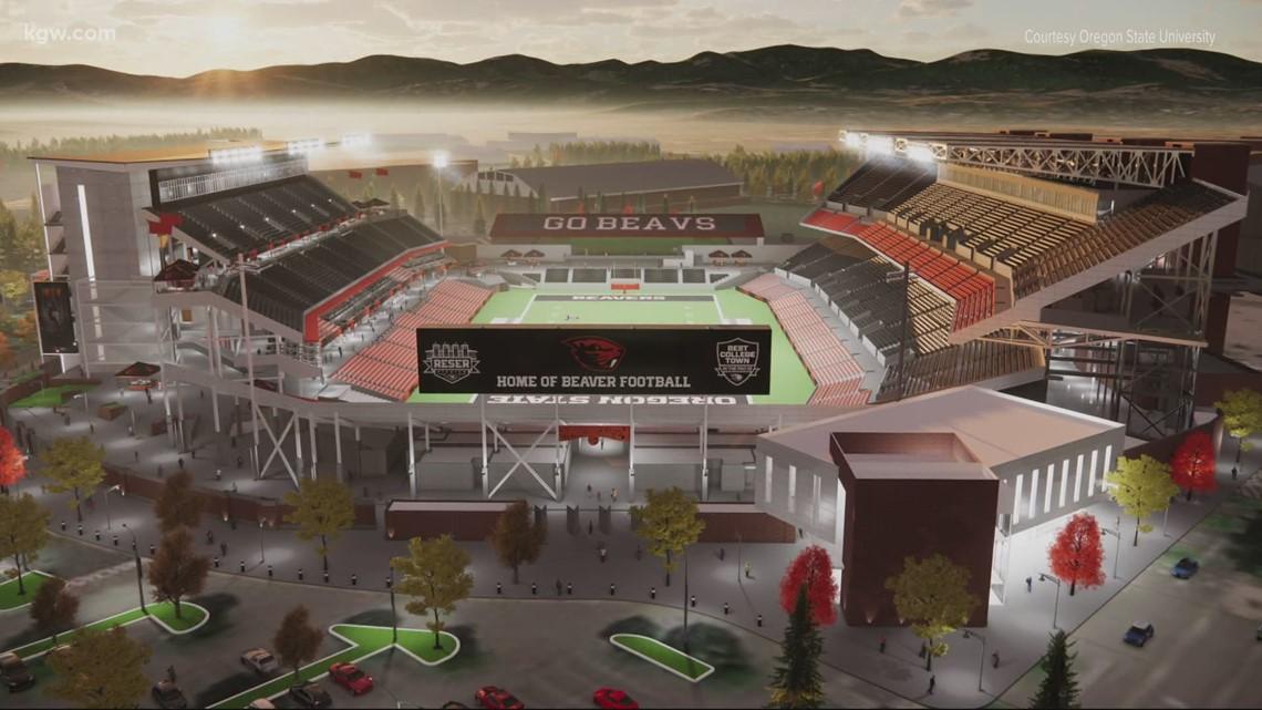 Oregon State University renovating Reser Stadium