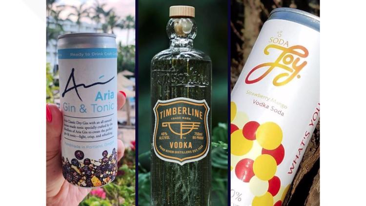 3 new Oregon-made spirits to sip on a sunny day