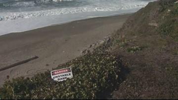 Beach erosion, worsened by warming climate, threatening coastal homes